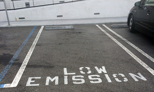Green Code Affecting Parking Lot Regulations